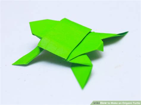 How To Make An Origami Turtle - how to make an origami turtle with pictures wikihow