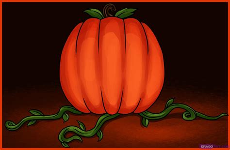 draw a pumpkin for how to draw a pumpkin step by step seasonal
