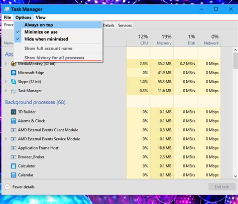 windows 10 task view tutorial task manager open in windows 10 windows 10 tutorials