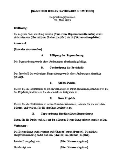 Vorlage Word Tagesordnung Tagesordnung Office Templates