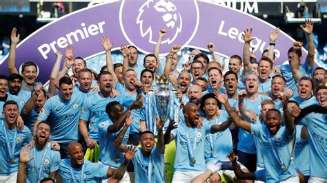epl chionship watch pep guardiola s swashbuckling manchester city lift