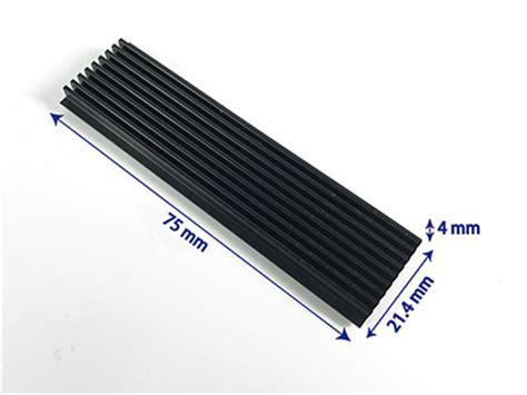Ssd Heat Sink mpk ssd2280m2 heat02bk 2280 ngff ssd m2 heat sinks