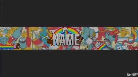 layout para youtube editavel banner edit 193 vel zueira ft huzy dl 231 download youtube
