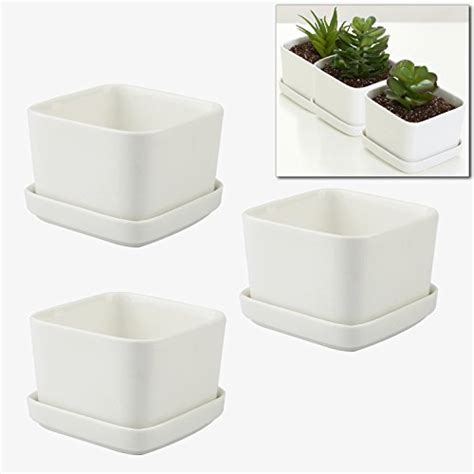5 Inch Planter Mygift 3 5 Inch Ceramic Succulent Planter Pot Planters