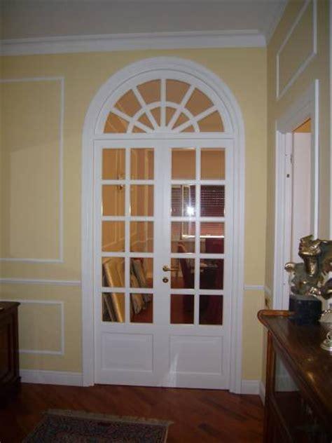 porte con arco porta a vetri arco laccata design esclusivo in legno