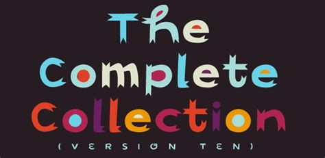 Design Font Collection | the complete collection fonthead design fonts