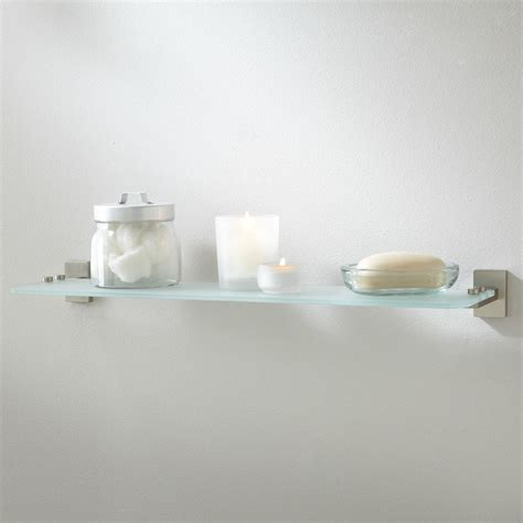 small glass bathroom shelf two small bathroom glass shelves home decorations