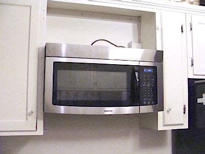 toward a white wakanda counter how to retrofit a cabinet for a microwave stove