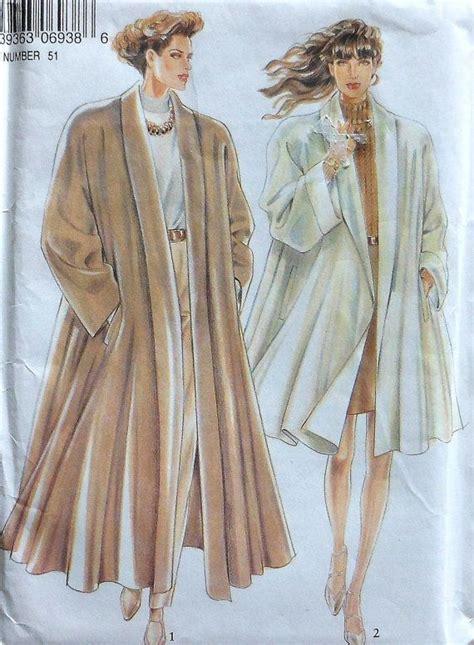 swing design patterns swing coat sewing pattern uncut new look 6938 sizes 8 18