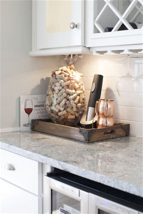kitchen countertop decorating ideas 25 best ideas about wine cork holder on cork