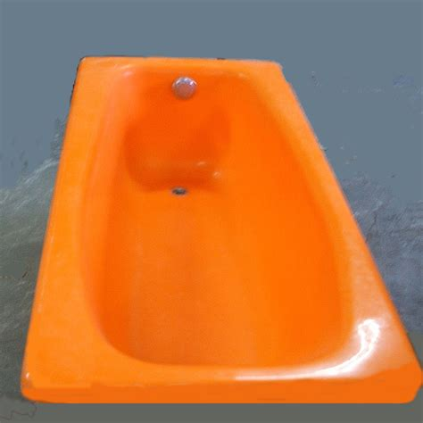 orange in bathtub sold