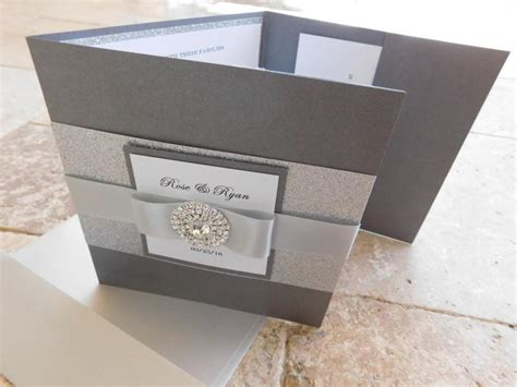 Printed Wedding Invitation Inserts by Tri Fold Envelopes Complete Wedding Invitation Suite With