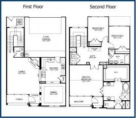 Floor Plans Two Story Homes by The Parkway Luxury Condominiums