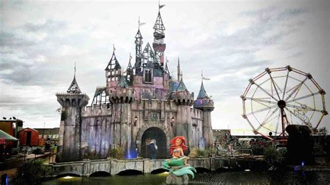 Coffee Table Photo Books Take A Tour Of Banksy S Dismaland Bemusement Park