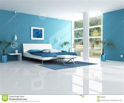 blaues schlafzimmer zeitgen 246 ssisches blaues schlafzimmer stockfoto bild 8850900