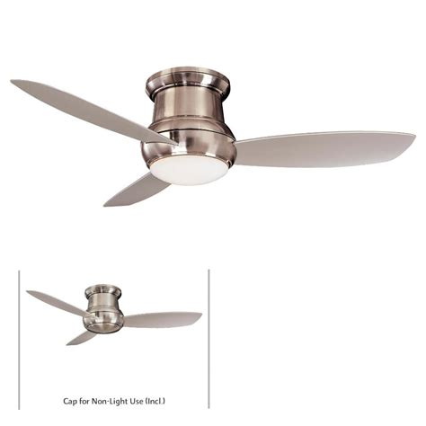 minka aire f574 bnw concept ii 52 quot ceiling fan w light