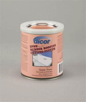 Dicor Rubber Roof Acrylic Coating by Dicor Roof Primer Cleaner Quart