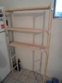the toilet bathroom shelves diy the toilet shelving unit one house one