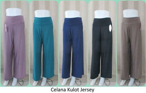 Celana Kulot Jersey Motif grosir celana kulot jersey polos tebaru tanah abang 32ribuan
