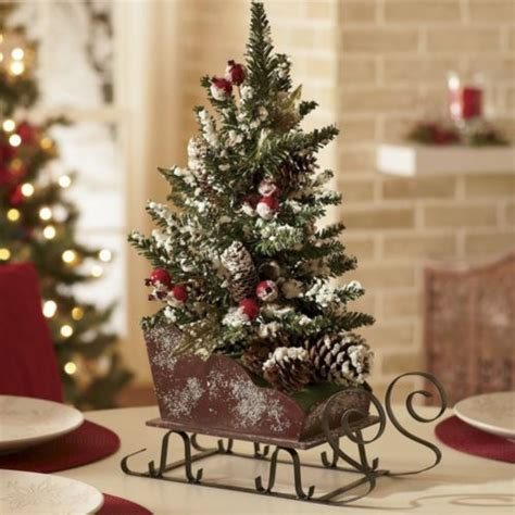 sleigh centerpieces pin by pam mitchell on