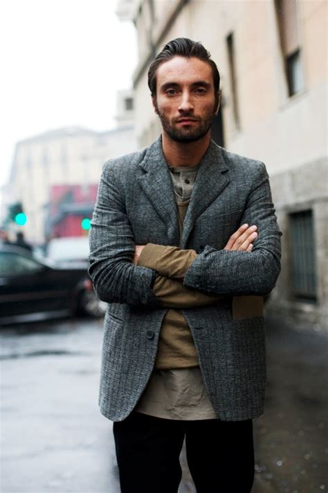 Style Ideas How To Wear Menswear Herringbone Second City Style Fashion by On The Layers Levels Milan 171 The Sartorialist