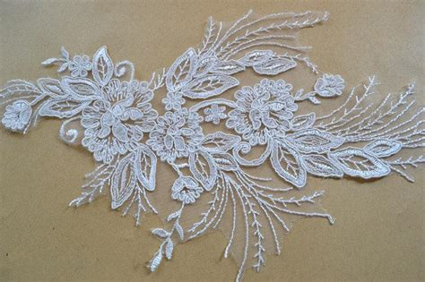 lace applique lace appliquetrim wedding lace applique bridal lace