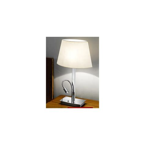 Table L With Led Reading Light by Tl819 Table L Led Reading Light Chrome