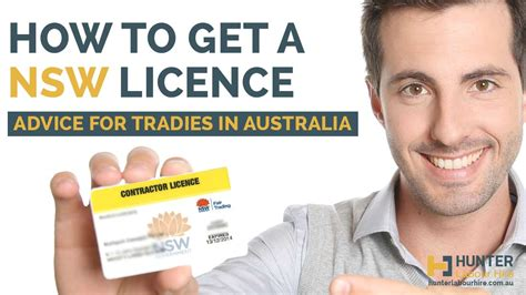 where to get license how to get a nsw licence advice for tradies in australia