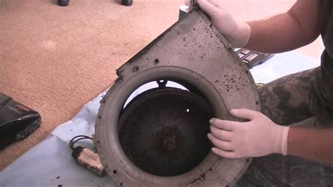 home repair maintenance   clean  air conditioner blower motor  blade youtube