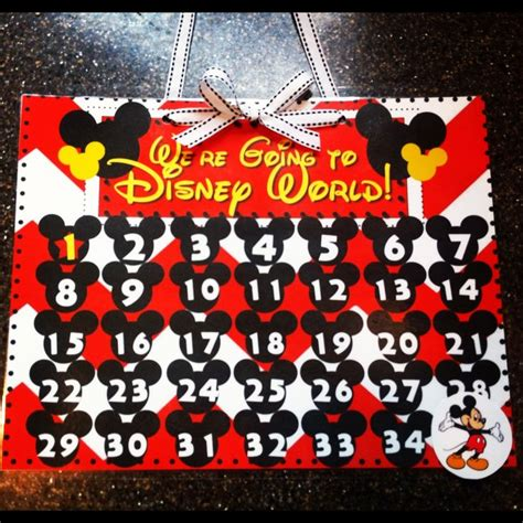 Disney Countdown Calendar 327 Best Images About Disney Trip Countdown Ideas On