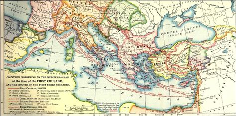 the third crusade map european history to 1600 the crusades