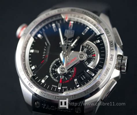Tag Heuer Grand Calibre 36 Auto Rubber All Black Pvd on review grand calibre 36 rs the home of