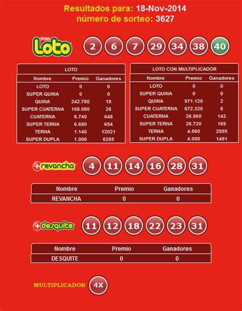 resultados loto hoy resultados del loto domingo 11 de loto hoy resultados del loto martes 18 de noviembre 2014