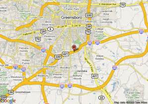 map of 8 motel greensboro east i 85 greensboro