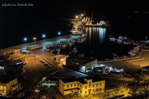 porto ortona notturno sul porto ortona ch juzaphoto