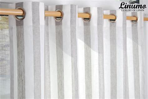 vorhang grau gestreift leinenvorhang vorhang gardine 145x235cm mit 214 sen 100