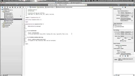 xcode uicollectionview tutorial xcode 5 tutorial ios 7 collection views youtube