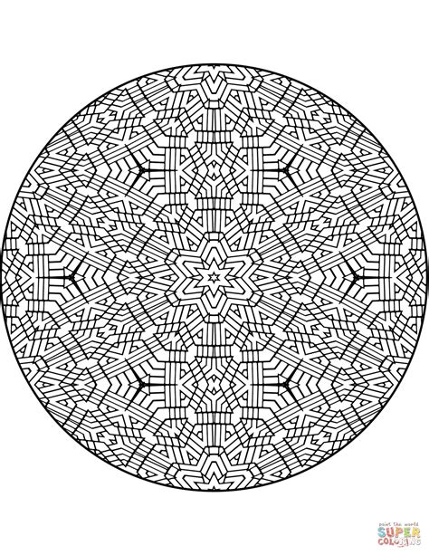 mandala coloring book color me now trippy mandala with coloring page free printable