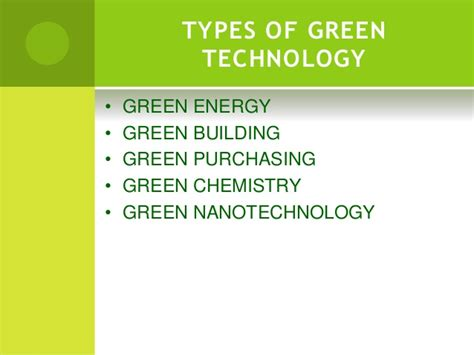Green Technology Ppt Green Building Concept Ppt