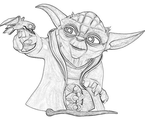 coloring page of yoda yoda printable coloring pages az coloring pages