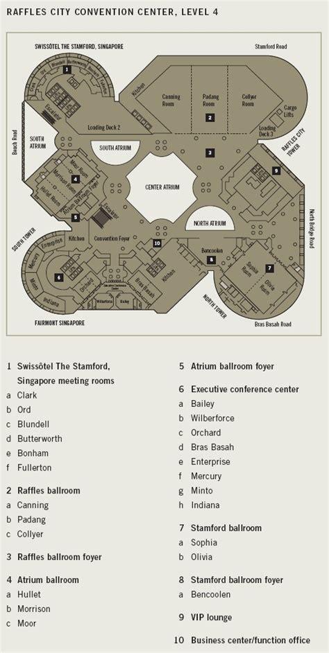 raffles hotel floor plan maps icann49 singapore