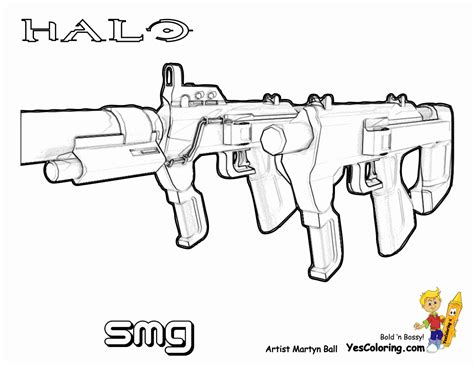 halo guns coloring pages halo guns colouring pages http www coloring pages book