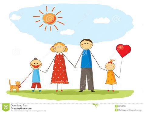 Happy Family Royalty Free Stock Photo Image 26140785 Genealogy Stock Photos Royalty Free