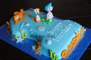 sweet mischief ja cake ideas bubble guppies inspired cakes
