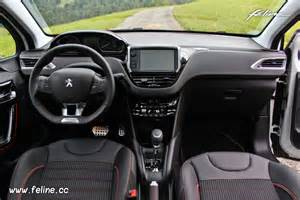 photo int 233 rieur mi tep oxford noir peugeot 208 gt