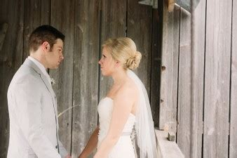 rustic wedding at the enchanted barn in hillsdale, wijames