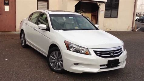 Stop L Honda Accord 2014 Up 2012 honda accord ex l v6 review walk around start up