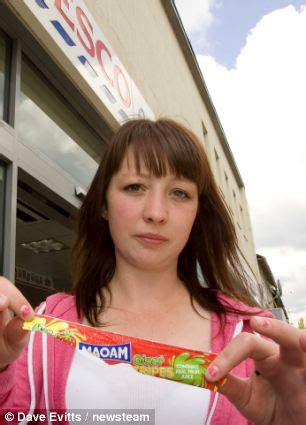 tesco ban family from store after daughter eats 10p chew