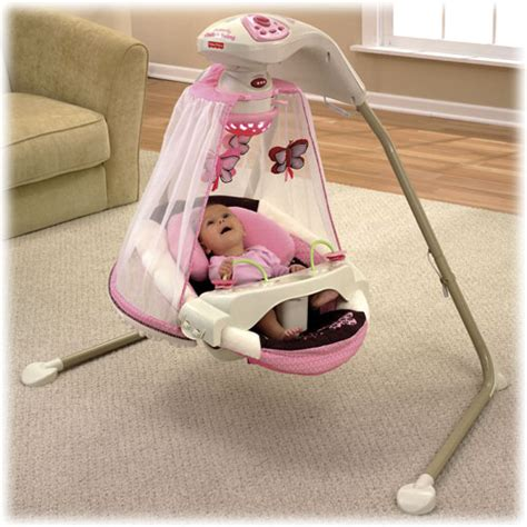 fisher price cradle n swing butterfly garden butterfly cradle n swing mocha butterfly