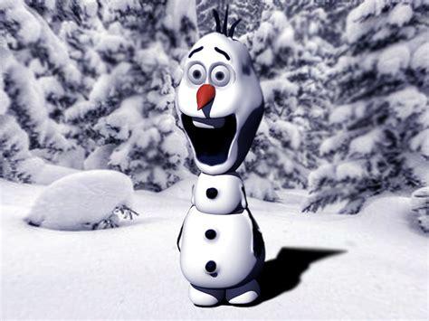 print model olaf snowman cgtrader